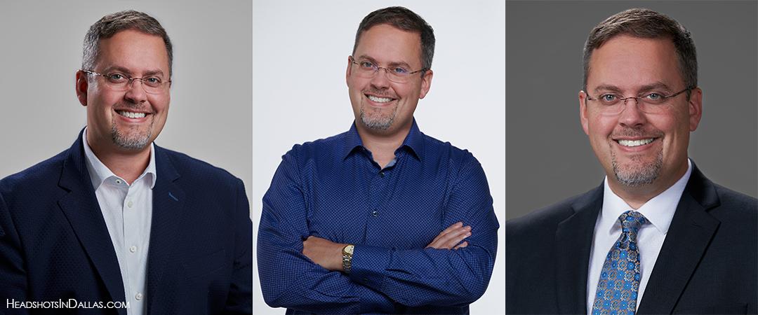 3 business branding headshots