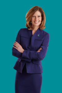woman executive power pose