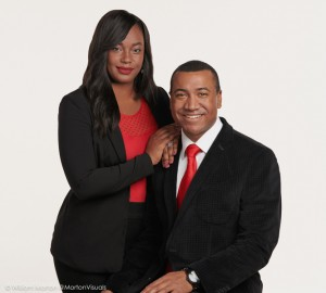 couple's business portrait